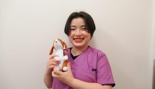 動物看護師:松野 夢香
